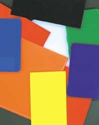 COLORED POLYCARBONATE SHEET: Plastic Distributor & Fabricator