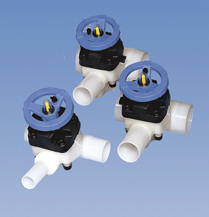 U3 way diaphragm valves plastic distributor fabricator asahiamerica has expanded their product offering to include new dimensions of the type 343 zero dead leg zdl 3 way valve for purad pvdf ccuart Gallery