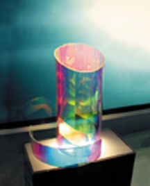Acrylic sheet adds new dimensions to displays plastic for Radiant plexiglass